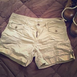 No Boundaries Tan Shorts